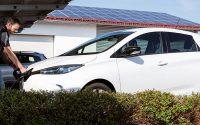 Elektro Firmenauto der Max Heimerl Bau GmbH